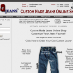 Custom Jeans For You With Your Own Measurements