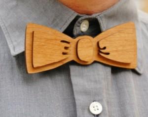 wood-bow-tie