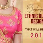 Designer Saree Trends of 2018